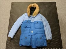 cac8818bd974 Nigel Cabourn X Eddie Bauer Everest Parka Blue Size 48