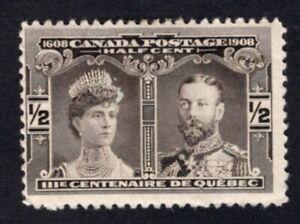 Canada 1908 stamp SG#188 MH CV=6£