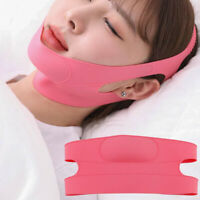 HN- Face Neck Wrinkle Removal Slimming Mask Double Chin Face-lift Firming Sleep
