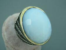 Turkish Handmade Jewelry 925 Sterling Silver Moonstone Men Ring Sz 10