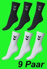 [NEU] Hummel 9 Paar Sport Socken 9er Pack  - ALLE SPORTARTEN -