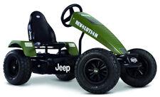 Berg Jeep Revolution Xxl-Bfr Kids Pedal Car Go Kart Green 5+ Years New