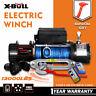 X-BULL 12V Electric Winch 13000lbs Truck Jeep Truck  2 Remote Control SUV 4WD