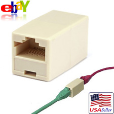 RJ45 Female to Female Lan Coupler Ethernet Network CAT5 Cable Extension Adapter