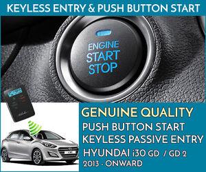 HYUNDAI i30 - Push Button Engine Ignition Start & Keyless Entry Installation