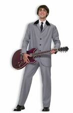 Mens Beatle British Invasion Halloween Costume Adult Fancy Dress Up Party Outfit