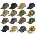 Condor Tactical Cap ( Choice of 10 Colors or Camoflage ) #TC Hat