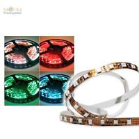 (29,98€/m) 40cm RGB LED Stripe flexibel mit 24 SMD LEDs zB indirekte Beleuchtung