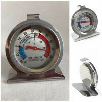 1/2/5pcs Stainless Steel Metal Temperature Refrigerator Freezer Dial Thermometer