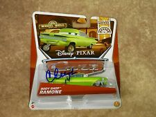 Cheech Marin Signed Cars Body Shop Ramone Radiator Springs/Disney LOM COA (G232)