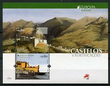 Portugal Madeira 2017 MNH Castles Europa 2v M/S Tourism Architecture Stamps