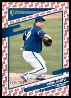 2021 Donruss  Base One Hundred #167 Hyun-Jin Ryu - Toronto Blue Jays /100