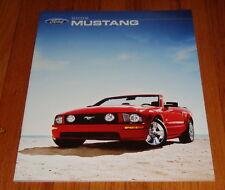 Original 2006 Ford Mustang Sales Brochure V6 GT Deluxe Premium
