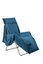 Lafuma Frotteeauflage Relaxliege 180x60cm Ecru beige Frottee-Handtuch