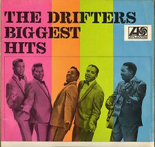 "THE DRIFTERS ""BIGGEST HITS"" SOUL LP 1966 ATLANTIC 587038"