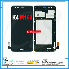 LG LTE K4 M160 X230H vers. 2017 Display Lcd + Vetro Touch screen + Frame