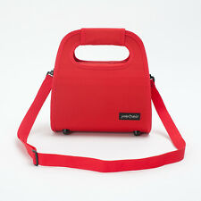 Prima Mela Italian Design Cooler Insulated Lunch Bag Picnic Storage Handbag Red