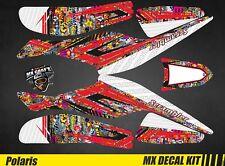 Kit Déco Quad / Atv Decal Kit Polaris Scrambler Trailblazer  - BombStick