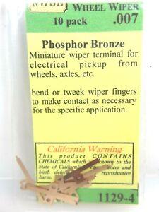 Northwest Short Line NWSL #1129-4 Bronze Wheel Wiper 10 Pack