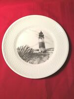 Wedgwood NANTUCKET SANKATY LIGHTHOUSE Accent Luncheon Plate