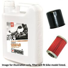 Honda VFR 400 R3K NC30 1989 Ipone 10.4 10w40 Oil and Filter Kit