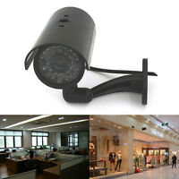 Quality Dummy Fake Outdoor Indoor Security Camera Night Blinking LED BLACK A Jf