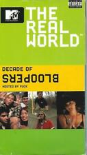 VHS: MTV THE REAL WORLD DECADE OF BLOOPERS......HOSTED BY PUNK