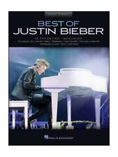 Best Of Justin Bieber Learn to Play Birthday Present Piano SHEET MUSIC BOOK