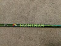 New Tour Issue uncut HZRDUS Small Batch Green Hulk Smoke 80 TX 6.5 Project X PVD