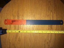 "SANDVIK Sandflex 16"" x 1-1/2"" x .075"", 10TPI Power Bi-Metal Hacksaw Blades"
