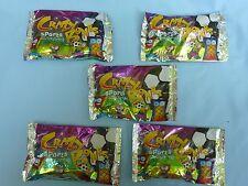 Crazy Bones SPORTS Go Go's (characters 1-40) Item #00150 NIP (5 foil packs)