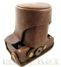 Leather camera Case Bag For Canon EOS M  Camera