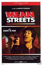 Mean Streets Robert de Niro Vintage movie poster print #2