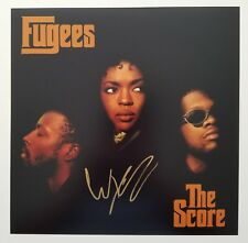 Wyclef Jean Signed The Score 12x12 Photo The Fugees Refugee Allstars Record RARE