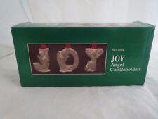 Dickson's porcelain joy angel candle holders