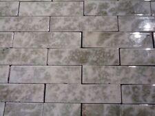 Antique Vintage Victorian Fireplace Tile Tiles Mantle Hearth Sage Olive Grey 65