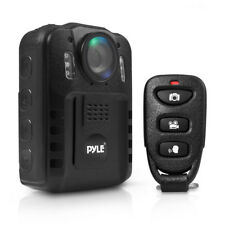 Pyle Compact Portable 1080p HD Infrared Night Vision Police Body Camera | PPBCM9
