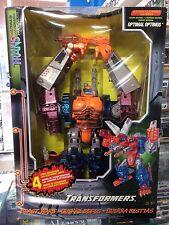 Transformers Beast Wars Transmetals Optimal Optimus CIB Complete in Box