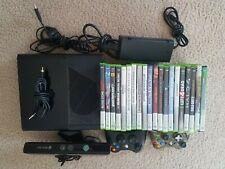 Xbox 360 console kinect bundle with games