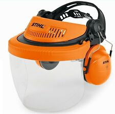 Cuffia con visiera protettiva ADFVANCE G500 PC Stihl per giardinaggio e lavori