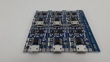 6pcs Micro Usb 18650 Lithium Battery Charging Board with battery protection Usa