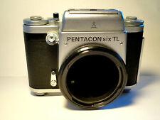 Pentacon Six TL Medium Format SLR Body SERVICED Top Condition - Mittelformat 6x6