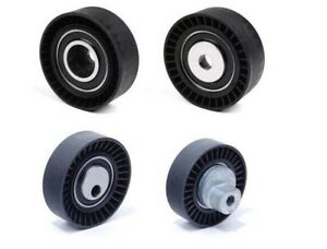 1 Belt Tensioner Pulley + 1 Idler Pulley Kit for BMW E36 E46 E39 325I 330I 530I