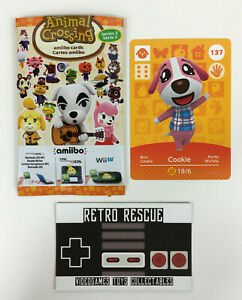 Cookie 137 Series 2 | Animal Crossing New Horizons Amiibo Card Nintendo Switch