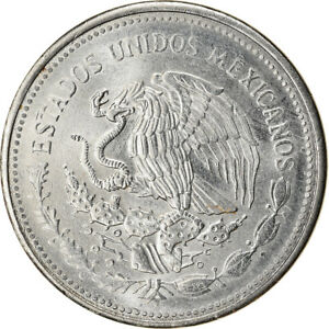 [#764893] Coin, Mexico, Peso, 1987, Mexico City, AU(55-58), Stainless Steel