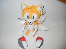 "NANCO SEGA TAILS FROM SONIC THE HEDGEHOG PLUSH TOY WITH TAG APPROX 12"" TALL"