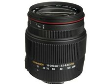 Sigma 18-200mm f/3.5-6.3 II DC OS HSM Lens for Nikon Cameras, Optical Stabilizer