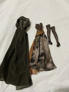 Barbie Faraway Forest Elf fantasy doll -dress cloak and shoes (read description)