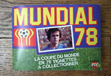 ALBUM PIF MUNDIAL 78 ARGENTINE COMPLET - FOOTBALL WORLD CUP SOCCER ADIDAS