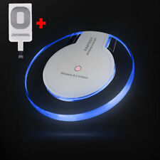 Qi Wireless Charger Dock Charging Pad Receiver For Samsung S3 S4 S5 Note 2 3 4